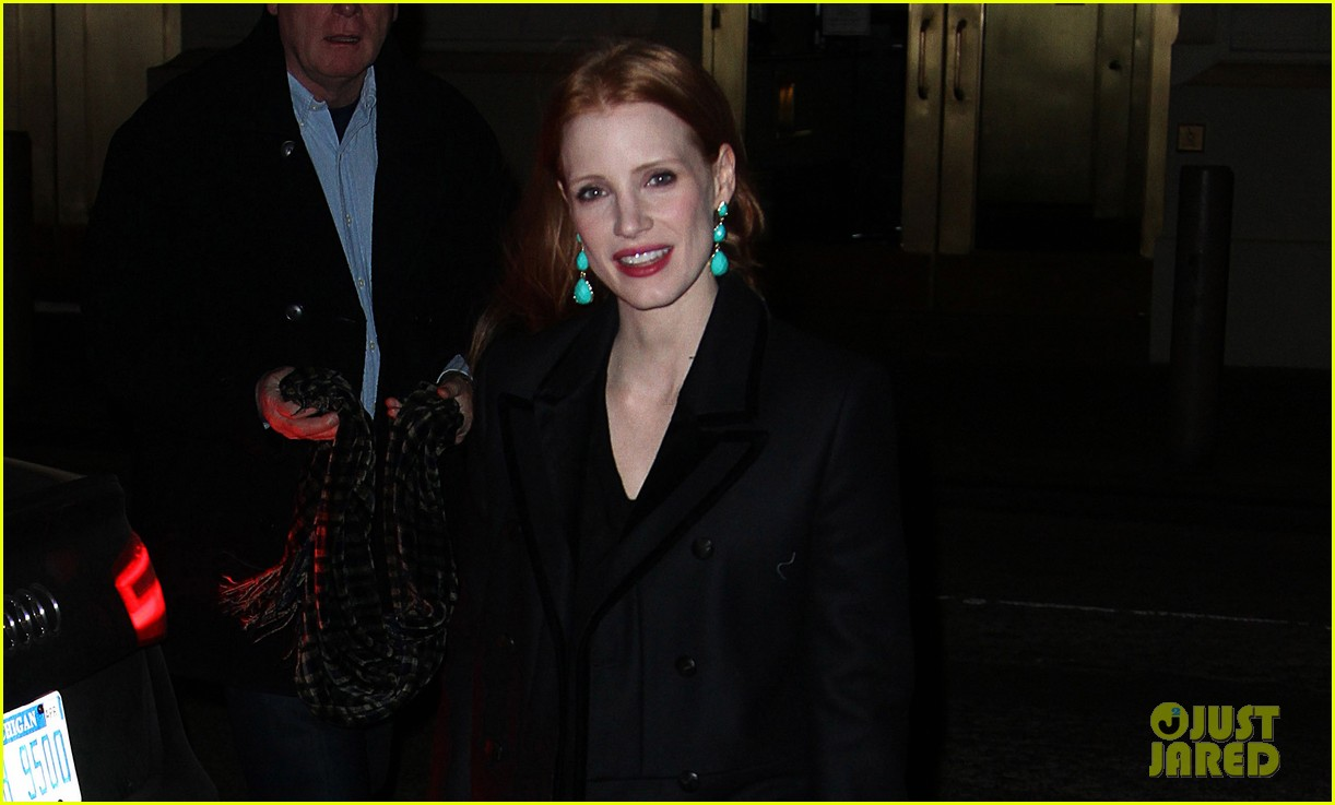 jessica chastain back to work after new years eve 022783838