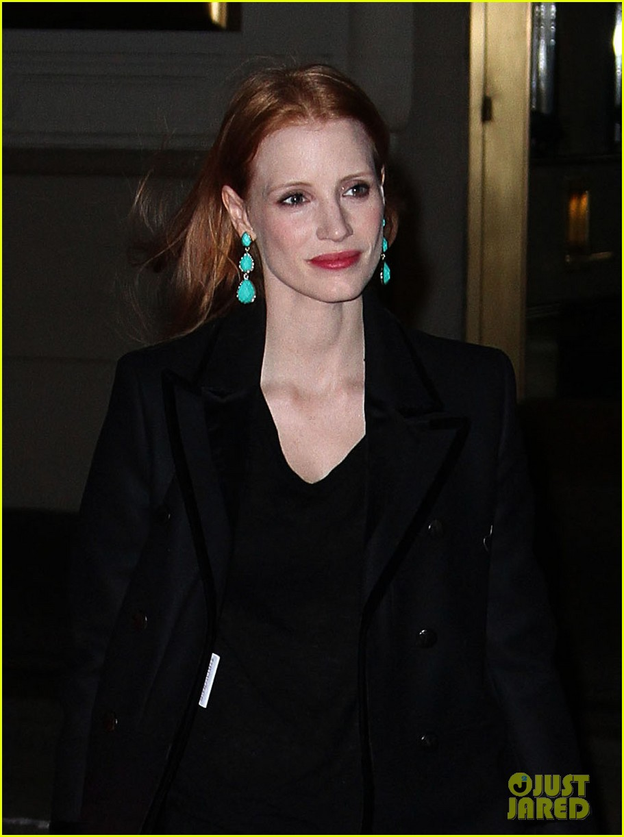 jessica chastain back to work after new years eve 042783840