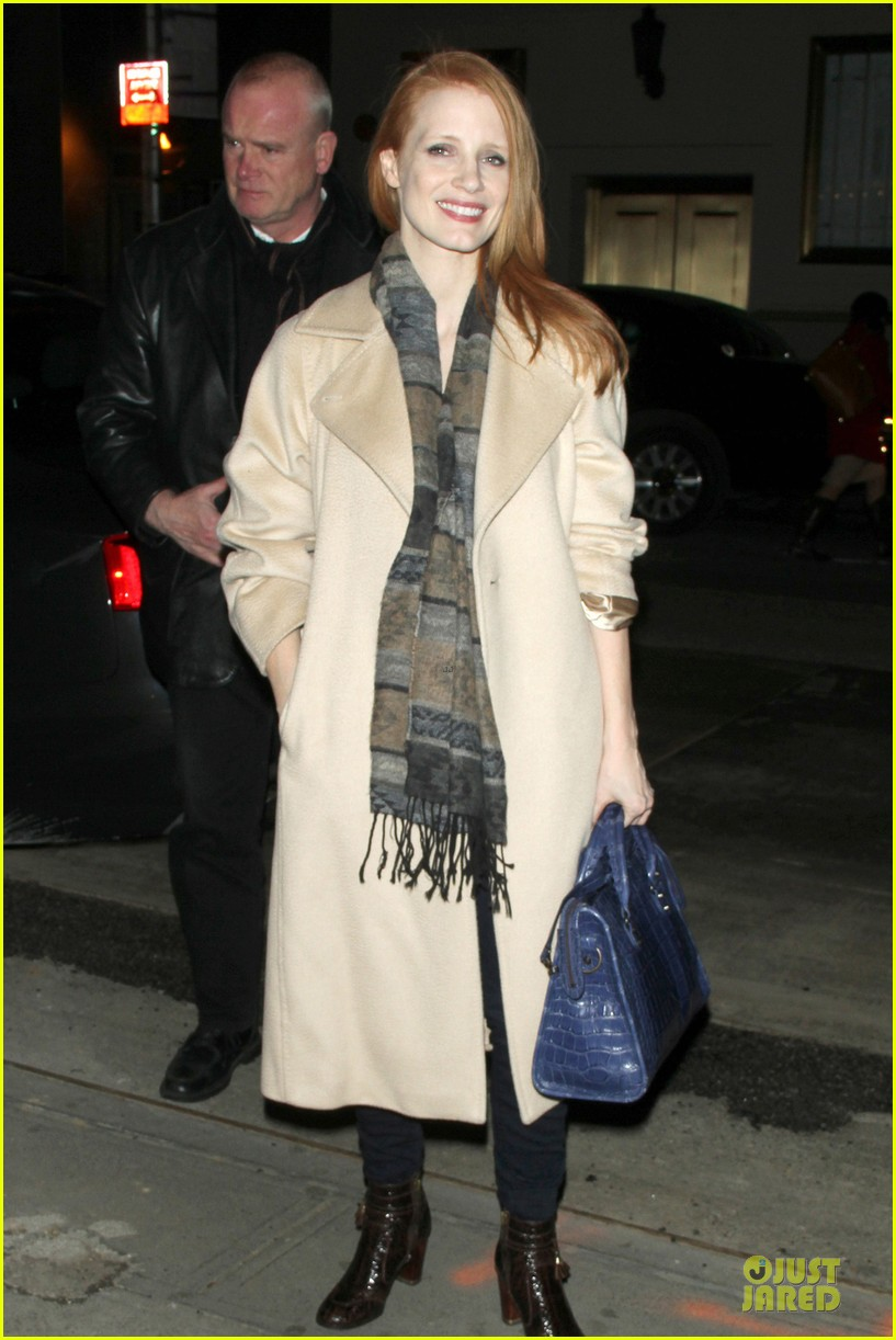 jessica chastain post golden globe win heiress performance 012792987