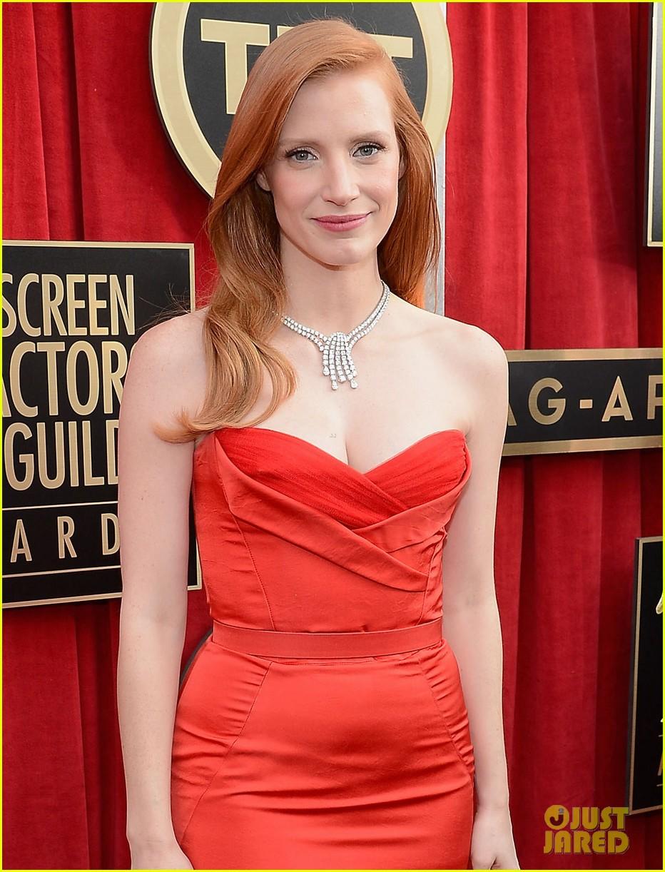 jessica chastain sag awards 2013 022799655