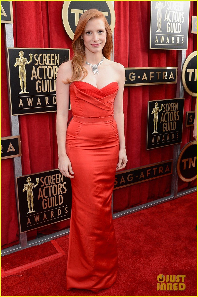 jessica chastain sag awards 2013 052799658