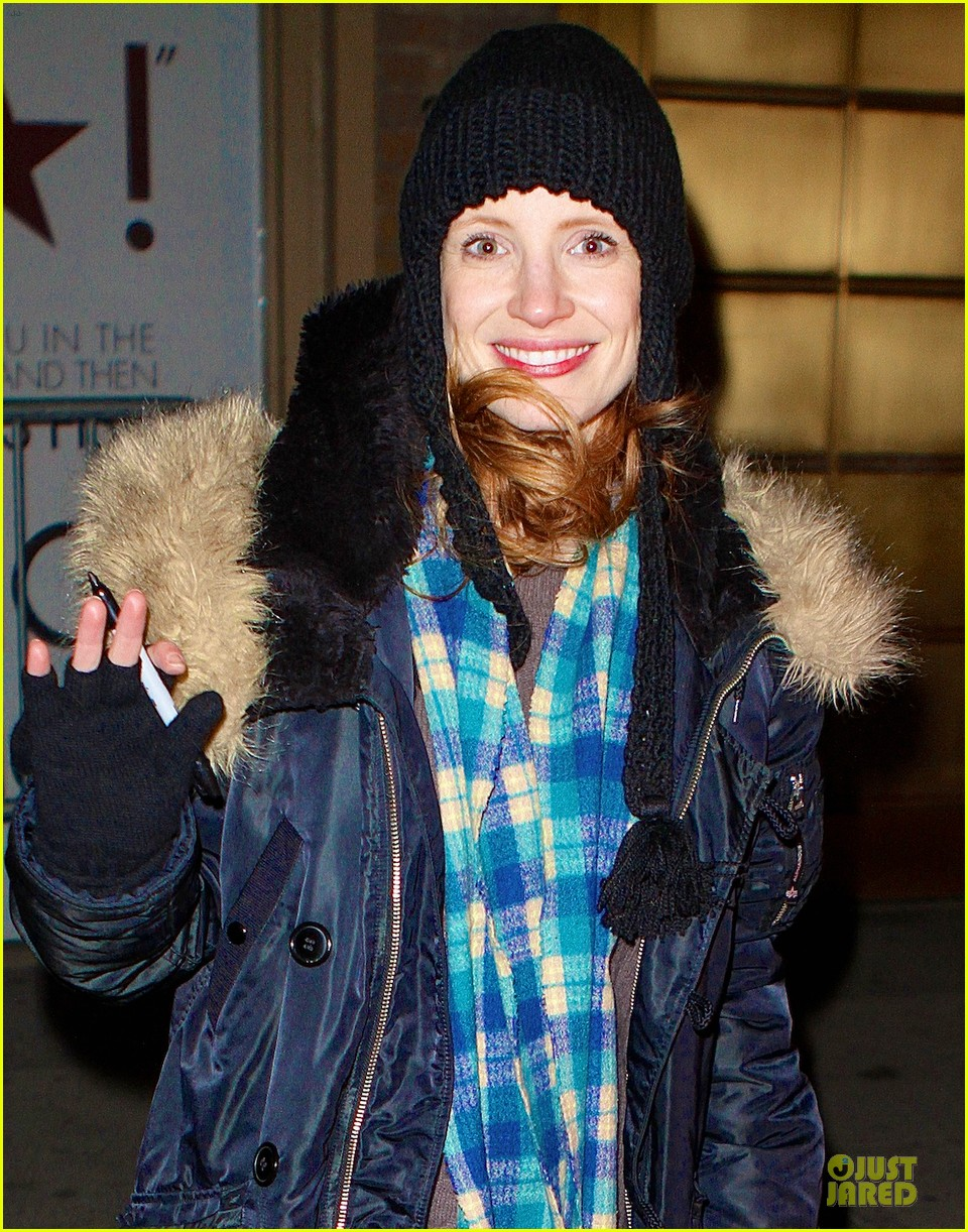 jessica chastain sign language after heiress performance 042798719