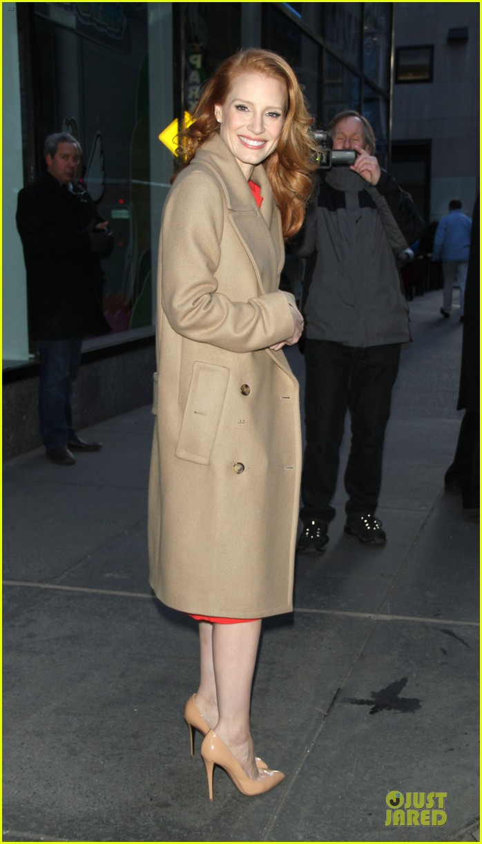jessica chastain mama promotion on today show watch now 182794470