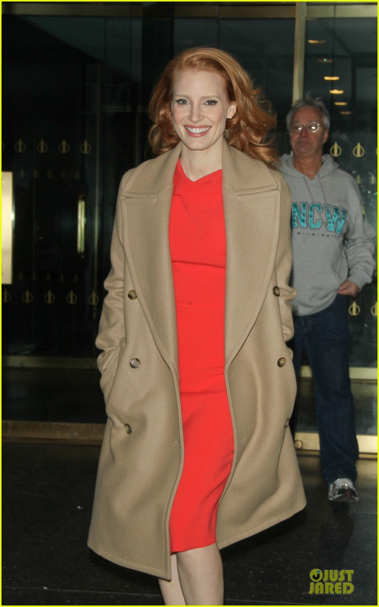 jessica chastain mama promotion on today show watch now 20