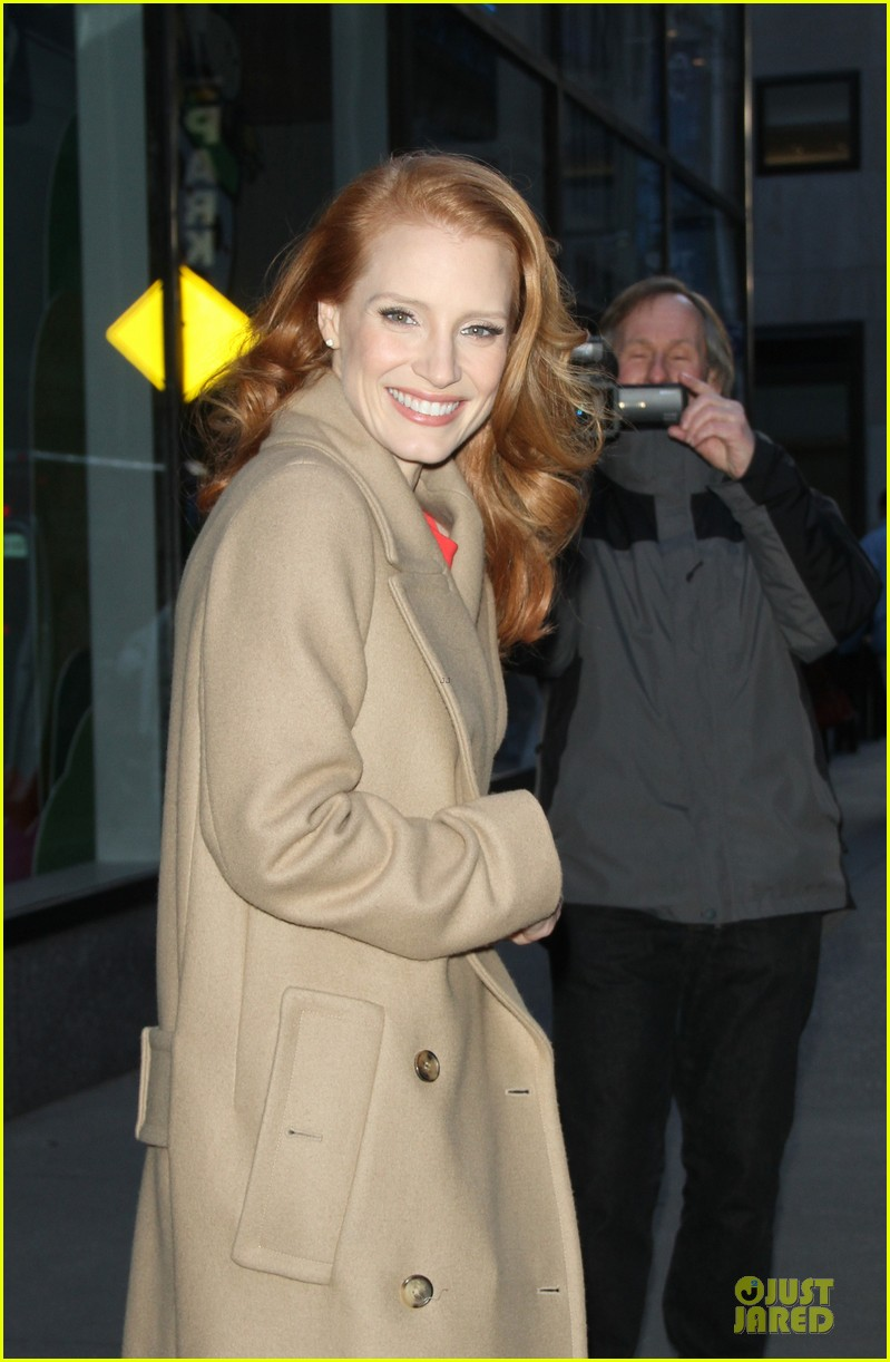 jessica chastain mama promotion on today show watch now 232794475