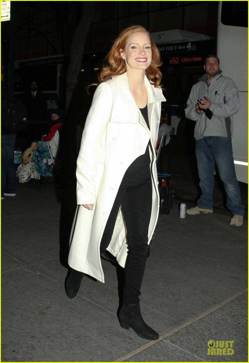 jessica chastain mama promotion on today show watch now 262794478