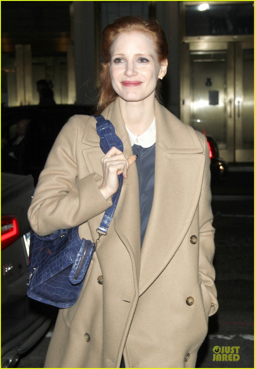jessica chastain late show with david letterman appearance next week 062785007