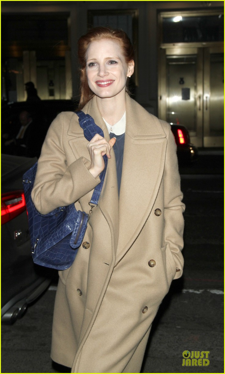 jessica chastain late show with david letterman appearance next week 072785008