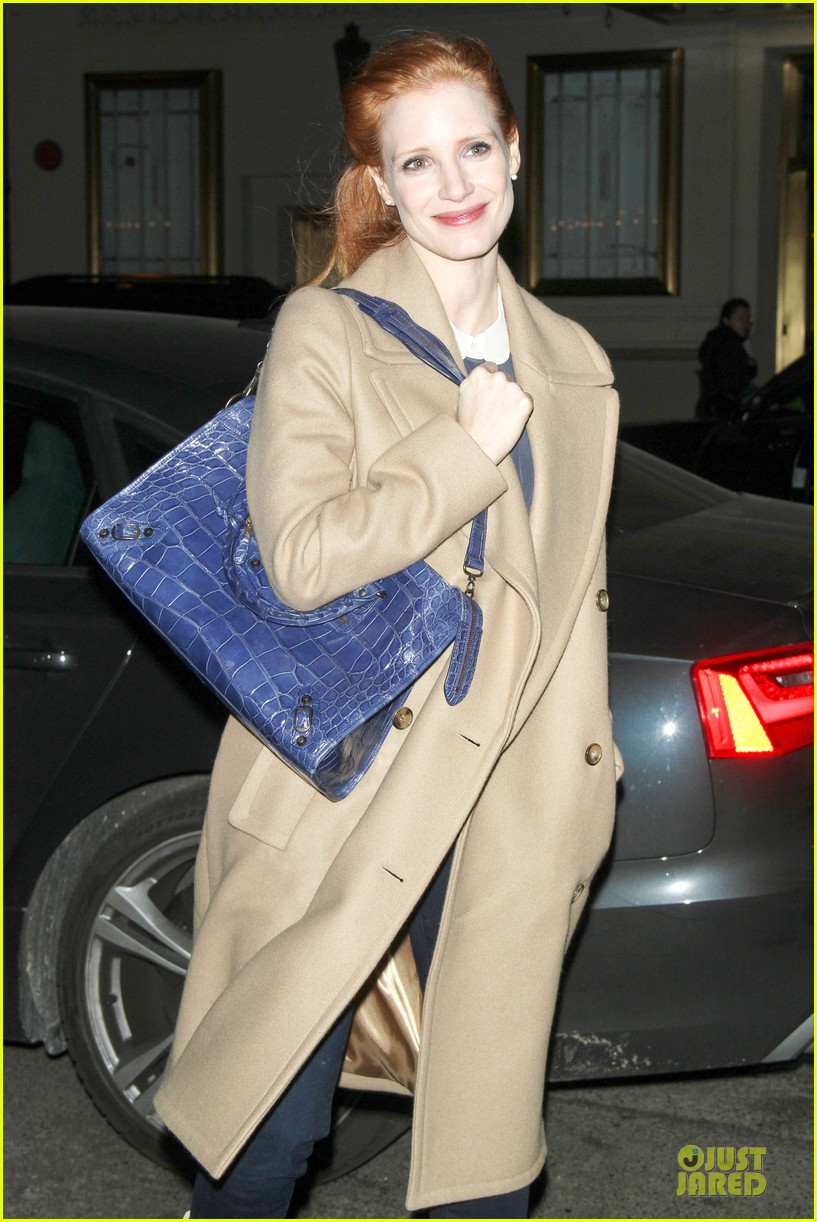 jessica chastain late show with david letterman appearance next week 102785011