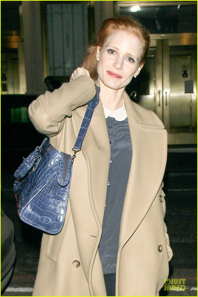 jessica chastain late show with david letterman appearance next week 122785013