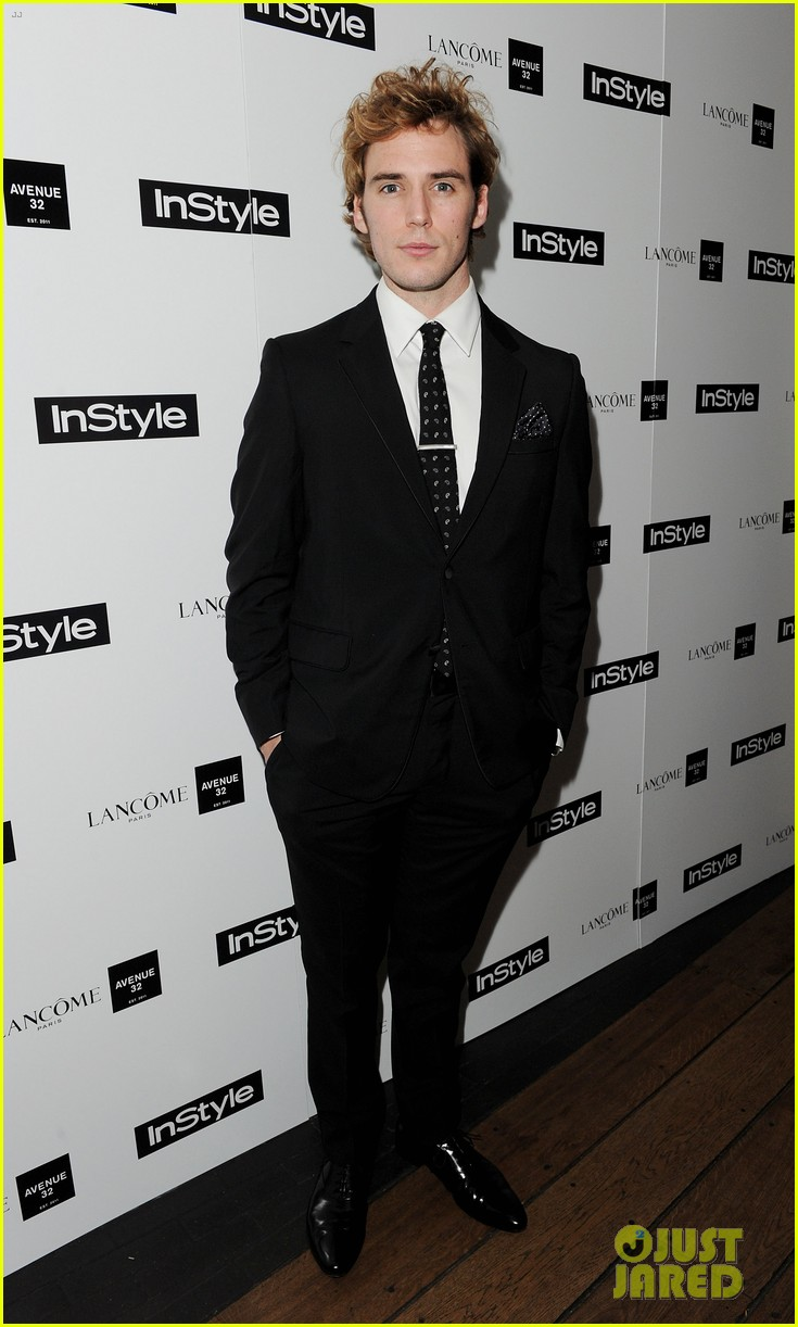 sam claflin instyle party with girlfriend laura haddock 052802112