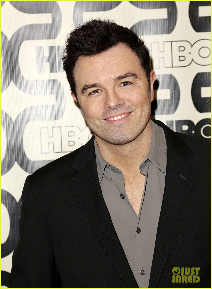 seth macfarlane emilia clarke hbo golden globes party 11