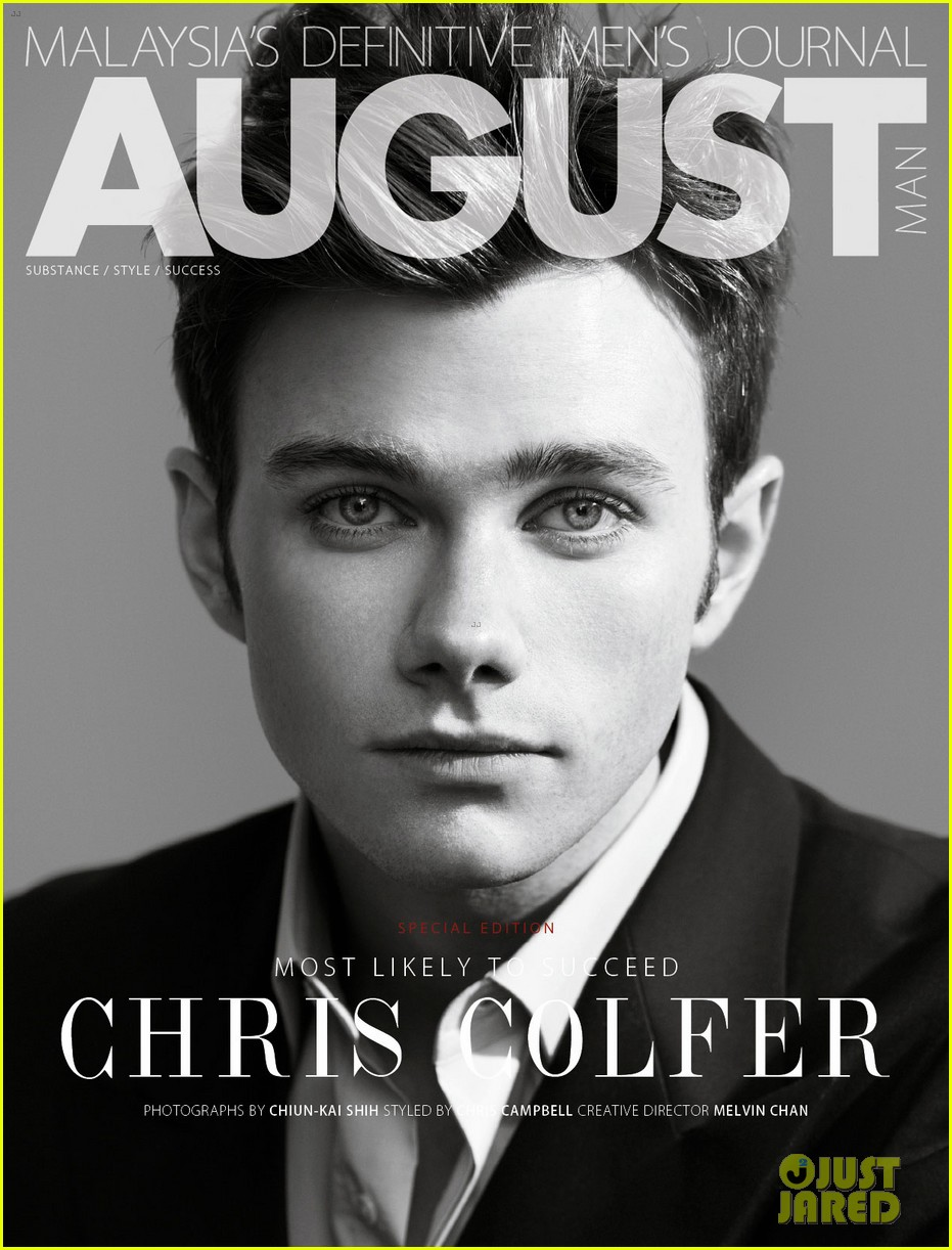 chris colfer august man february 2013 exclusive 05