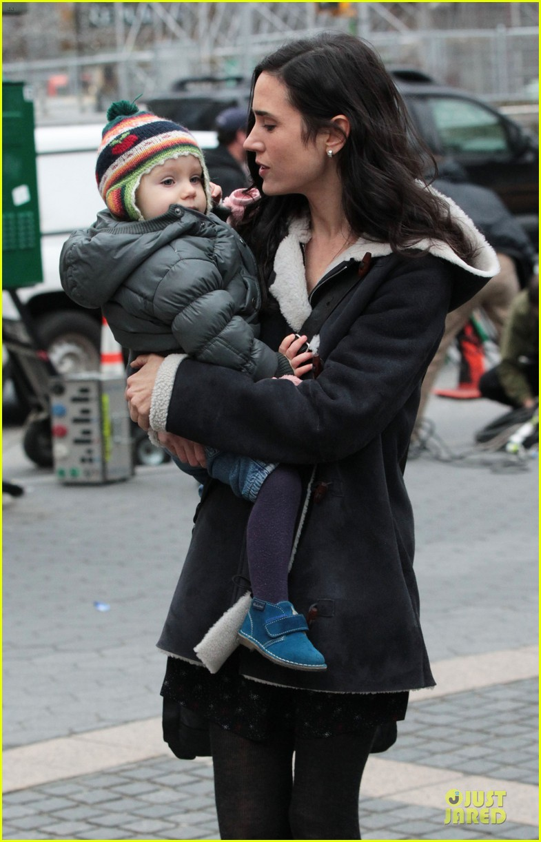 jennifer connelly agnes visits winters tale set 132792548