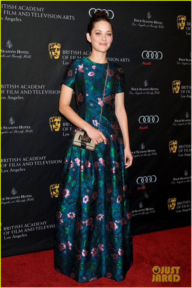 marion cotillard sienna miller bafta tea party 2013 10