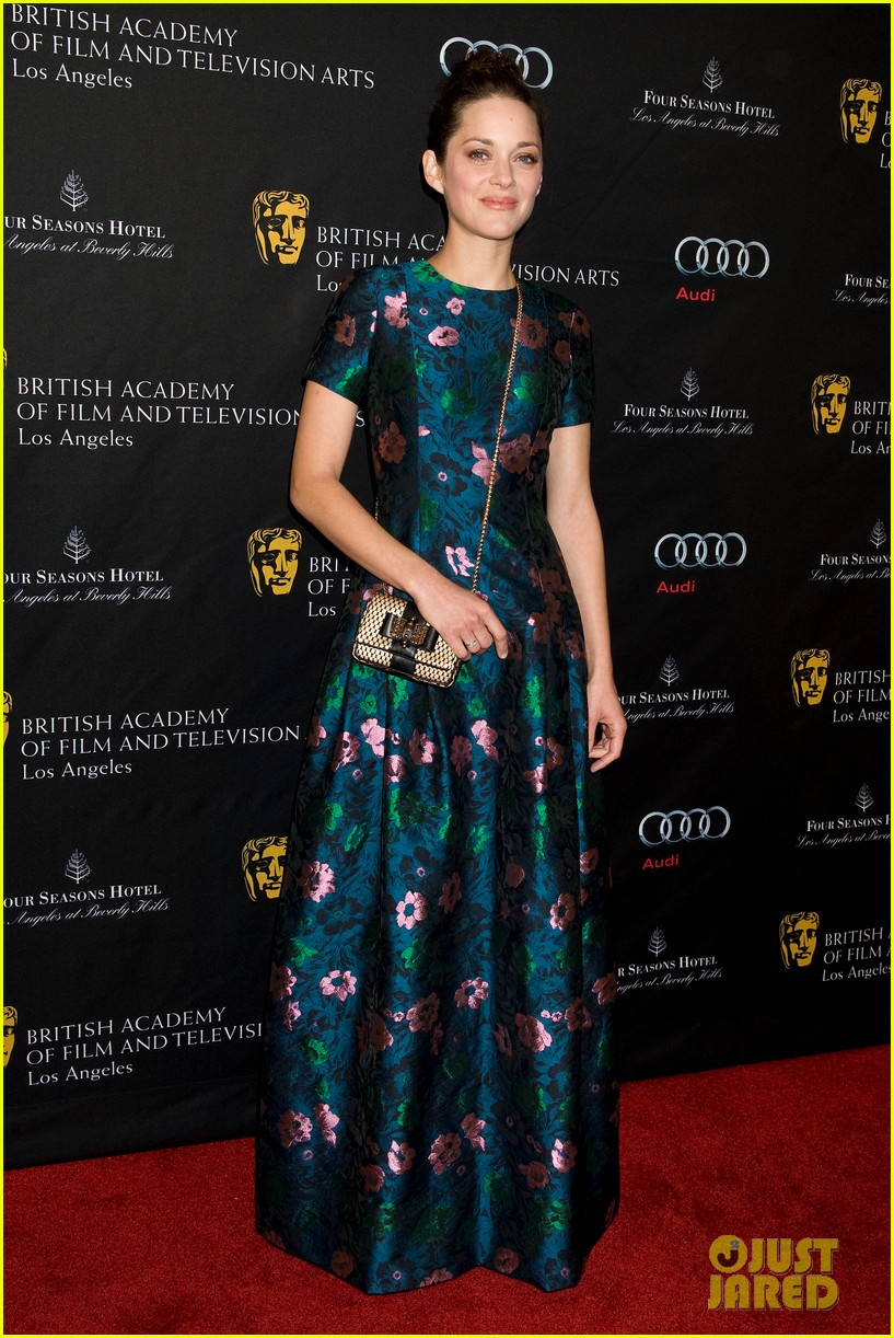 marion cotillard sienna miller bafta tea party 2013 11