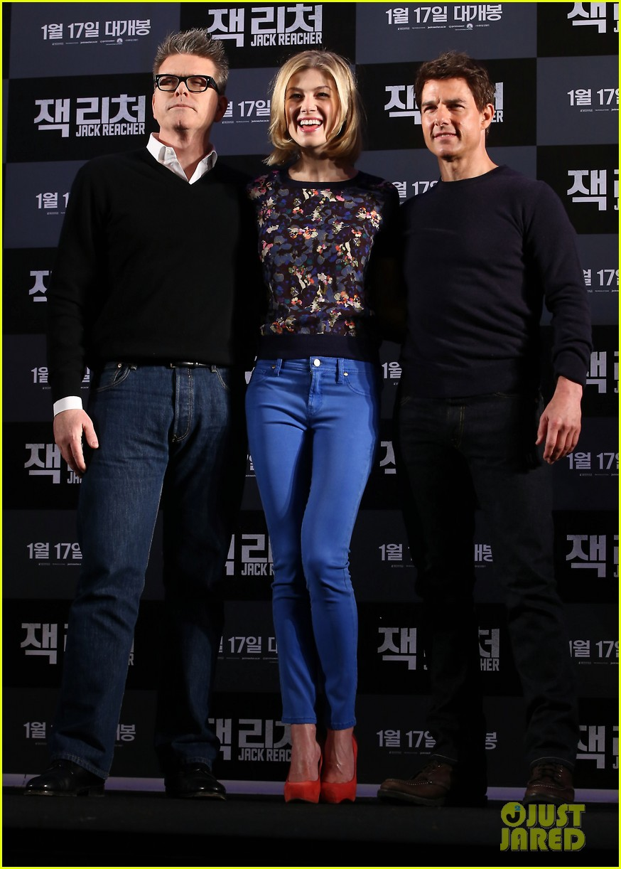 tom cruise rosamund pike jack reacher seoul photo call 142788109