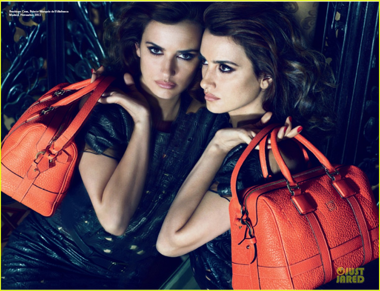 penelope cruz loewe spring summer campaign pics  04