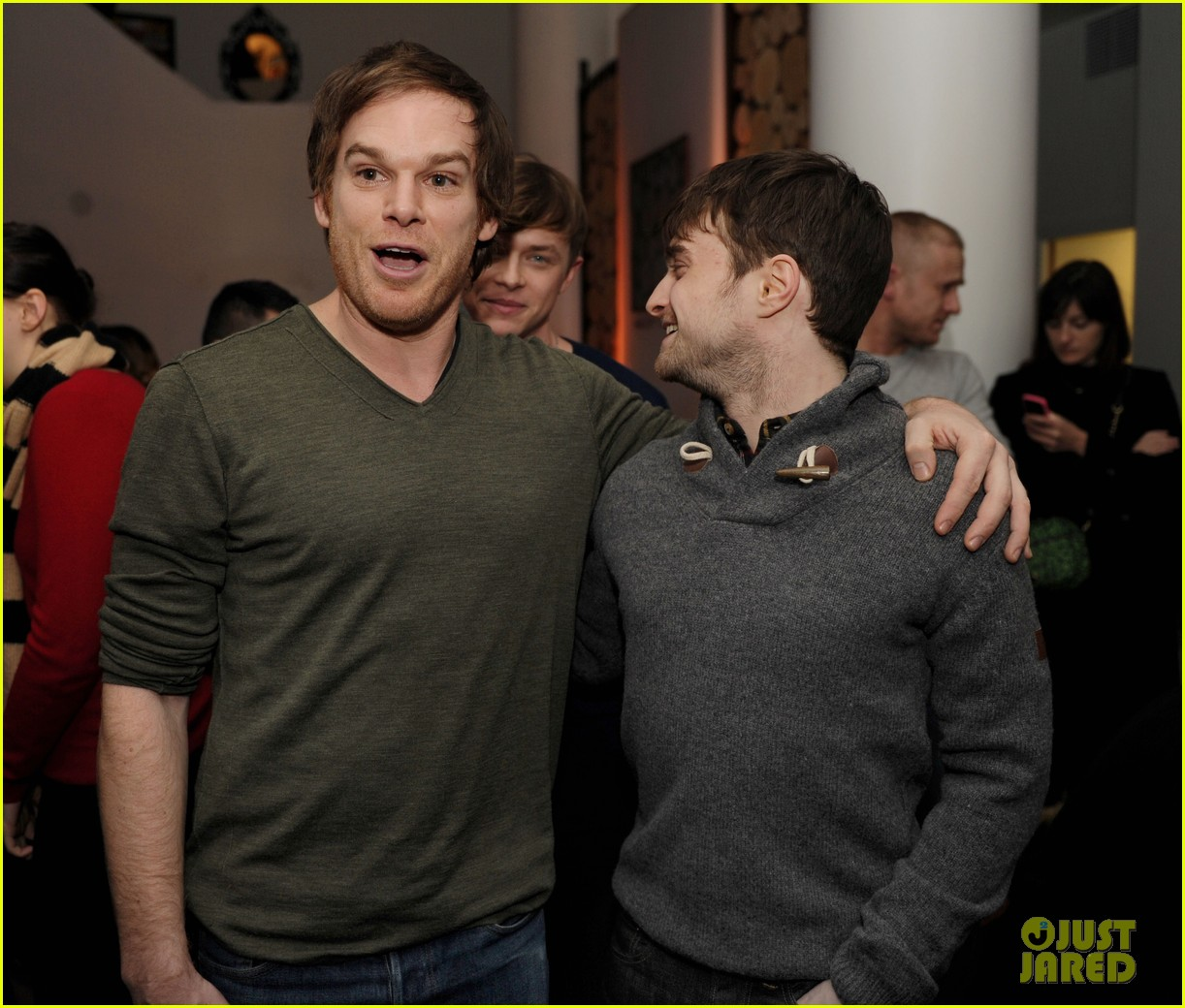 dane dehaan daniel radcliffe kill your darlings sundance dinner 032795515