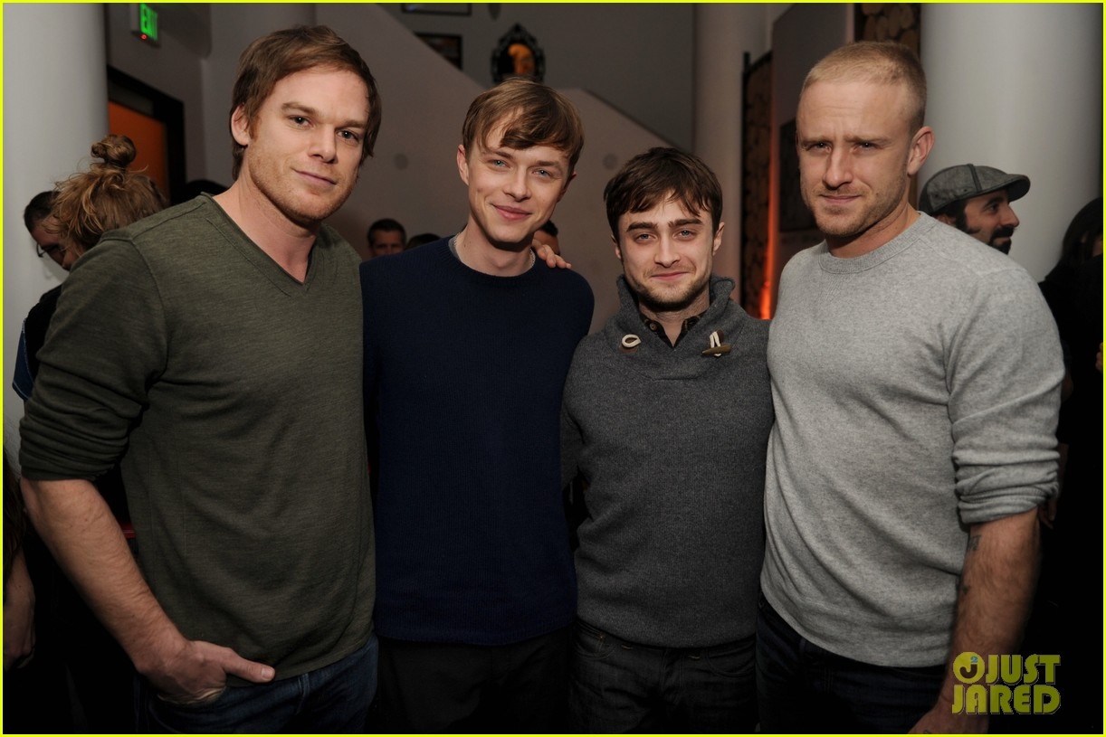 dane dehaan daniel radcliffe kill your darlings sundance dinner 04