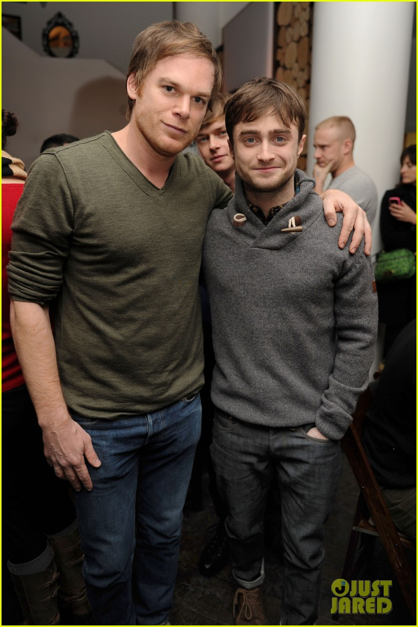 dane dehaan daniel radcliffe kill your darlings sundance dinner 052795517