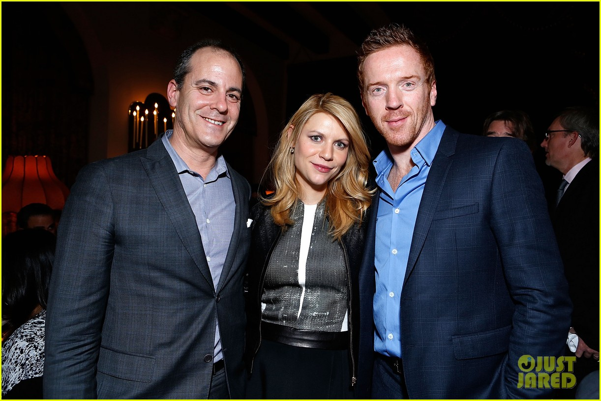 claire danes homeland cast showtime golden globes dinner 23