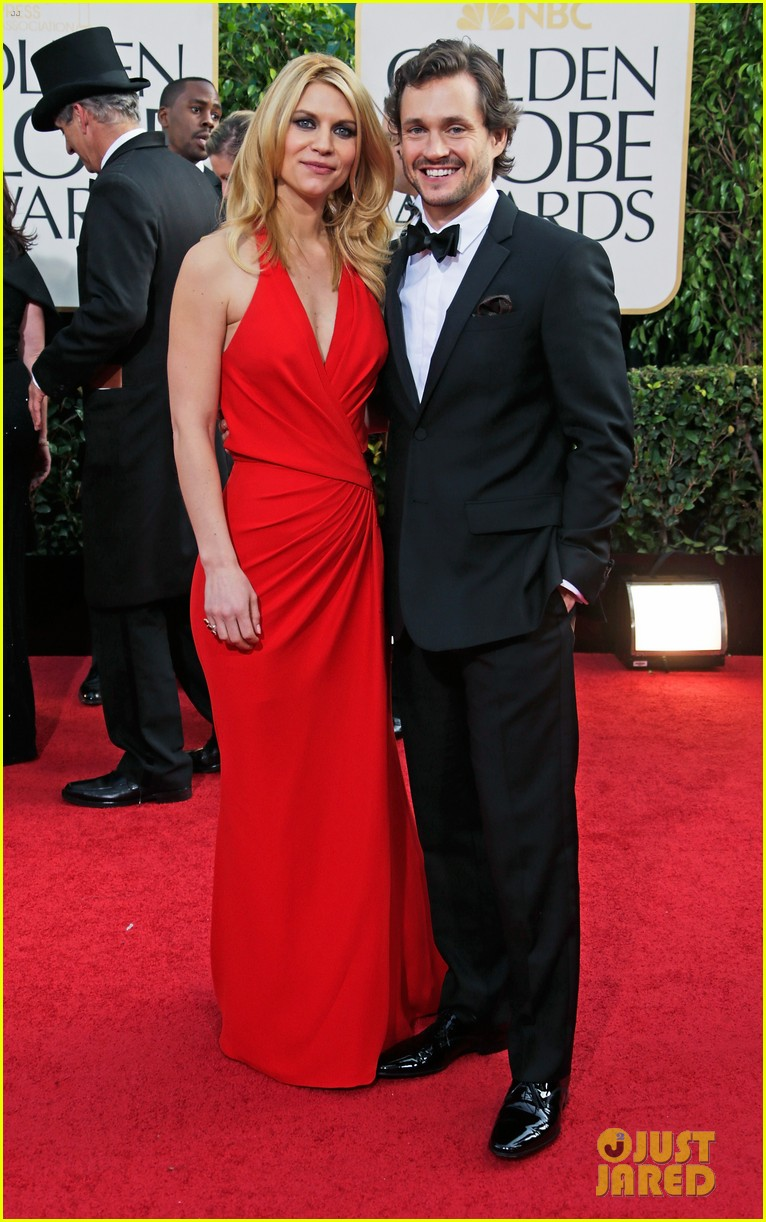 claire danes hugh dancy golden globes 2013 red carpet 042791209
