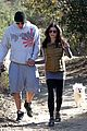 pregnant jenna dewan channing tatum hiking with the dogs 06