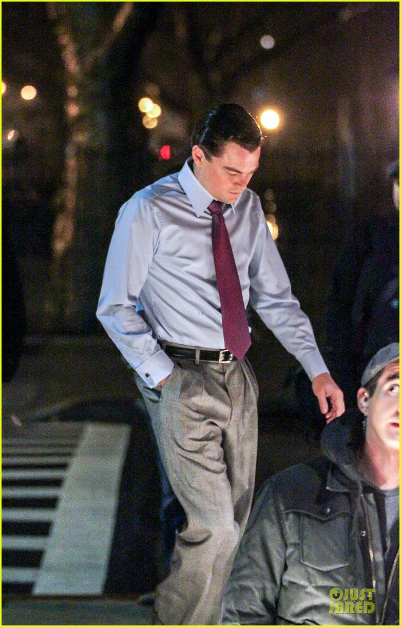 leonardo dicaprio last day of filming the wolf of wall street 032789807