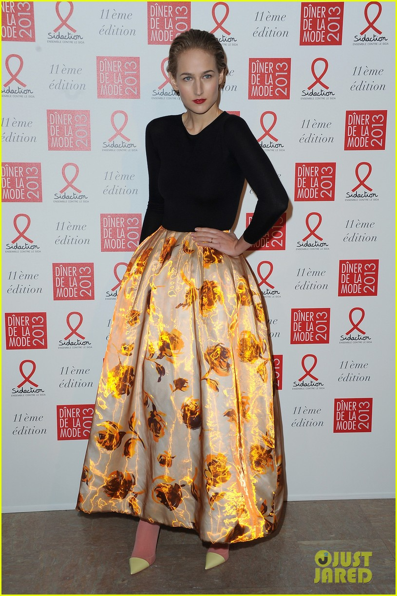 dita von teese hilary swank sidaction gala dinner 05