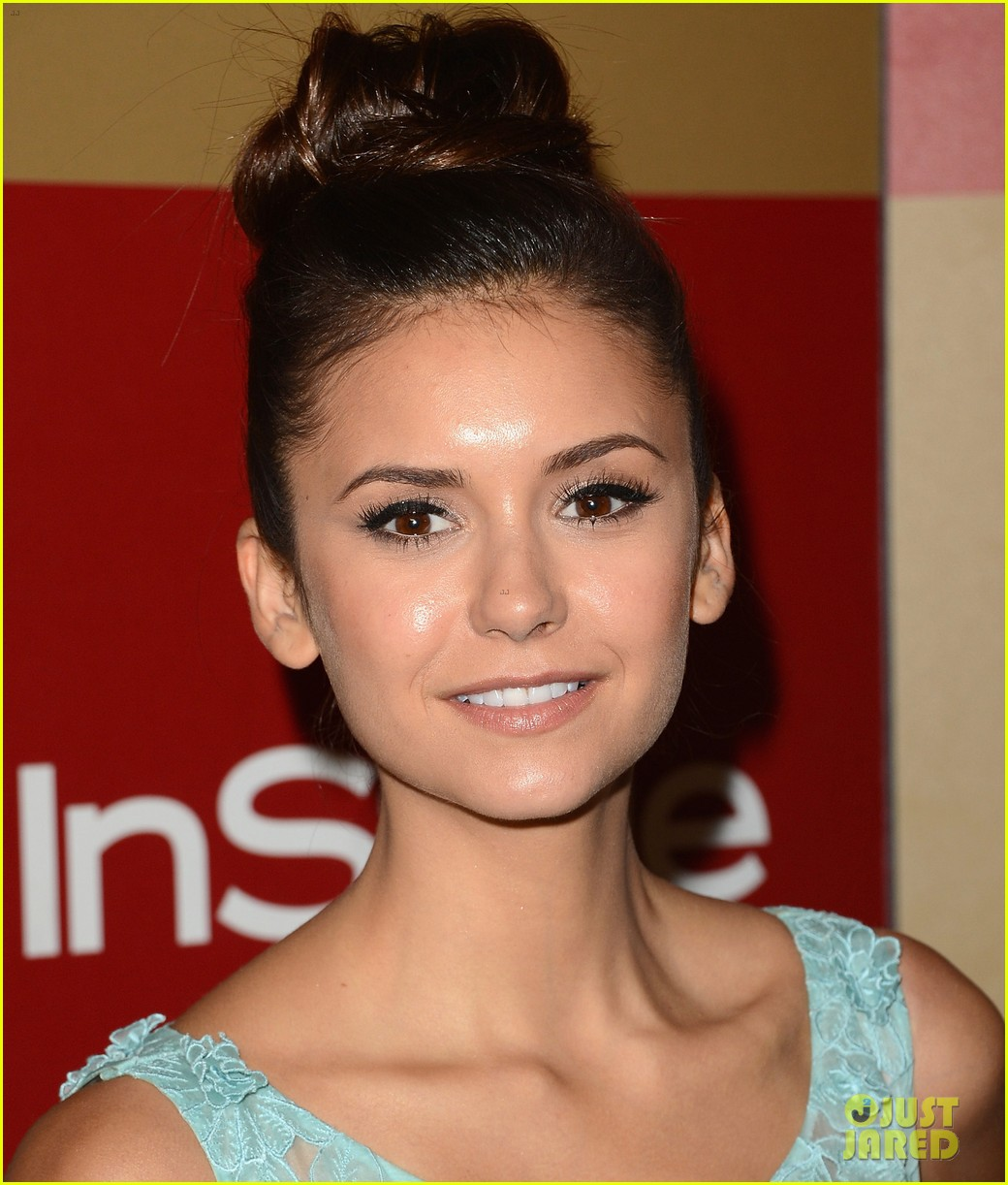 nina dobrev instyle golden globes party 2013 092792053