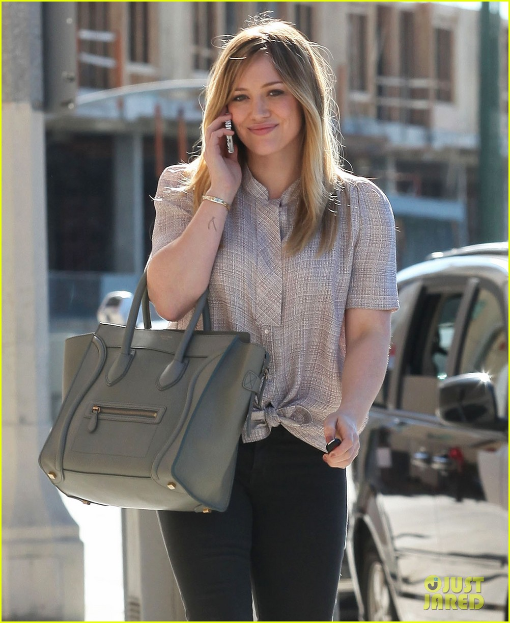 hilary duff mike comrie kings stanley cup celebration 112795923
