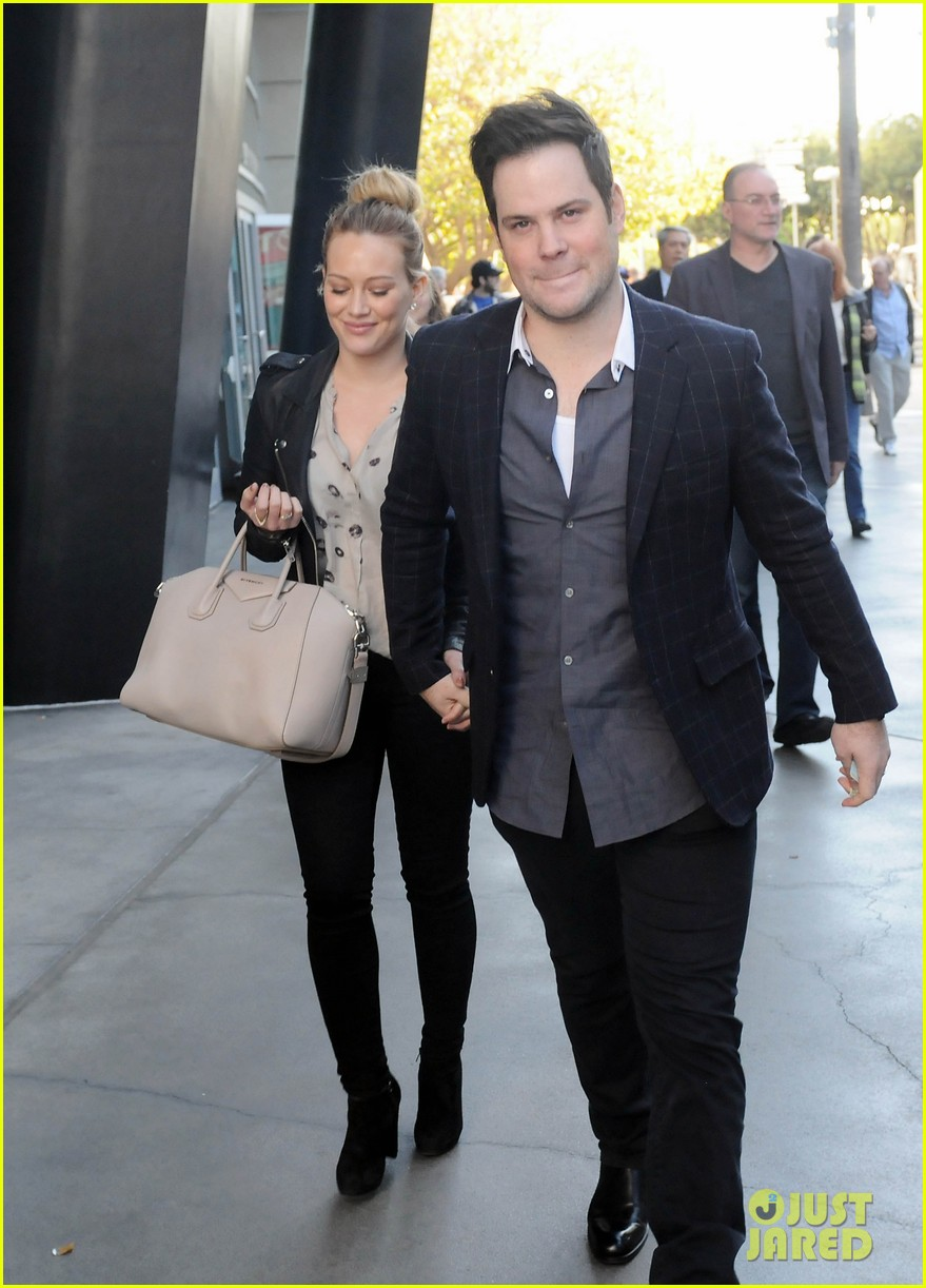 hilary duff mike comrie kings stanley cup celebration 192795931