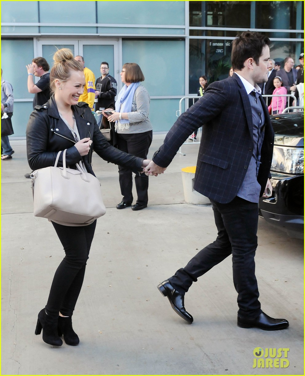 hilary duff mike comrie kings stanley cup celebration 20