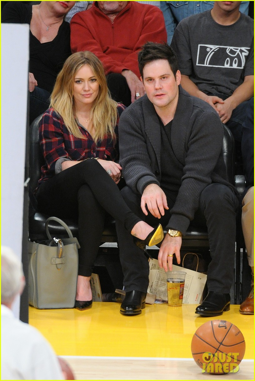 hilary duff mike comrie lakers lovers 05