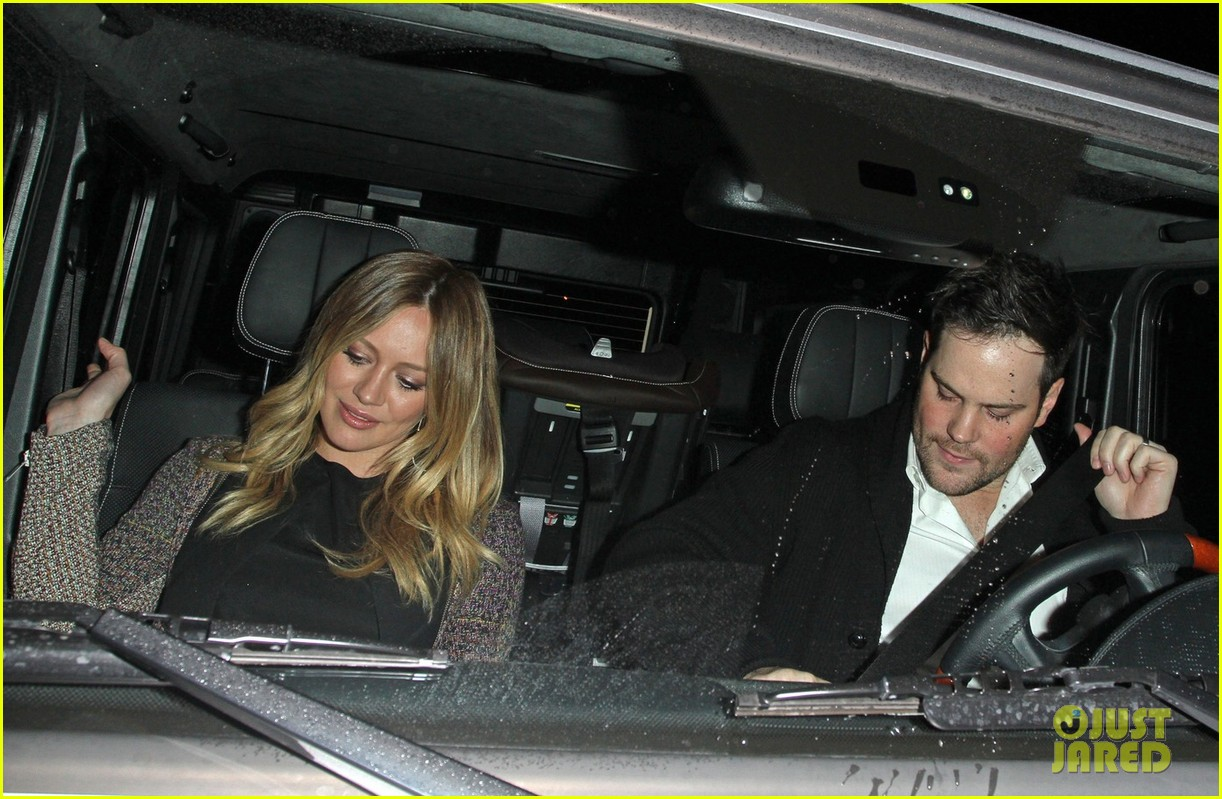 hilary duff mike comrie madeo dinner couple 07