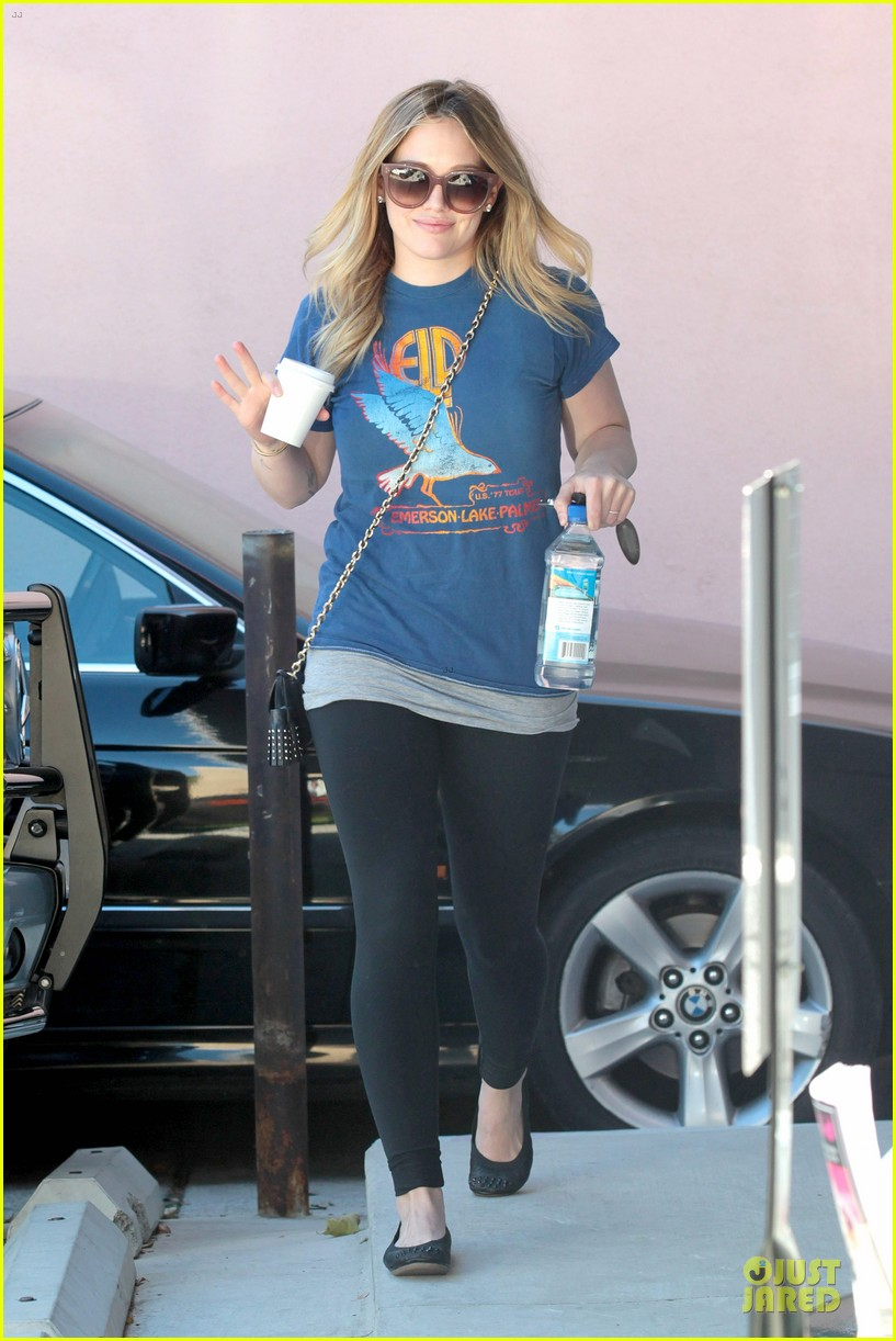 hilary duff post holiday piloxing session 062787302