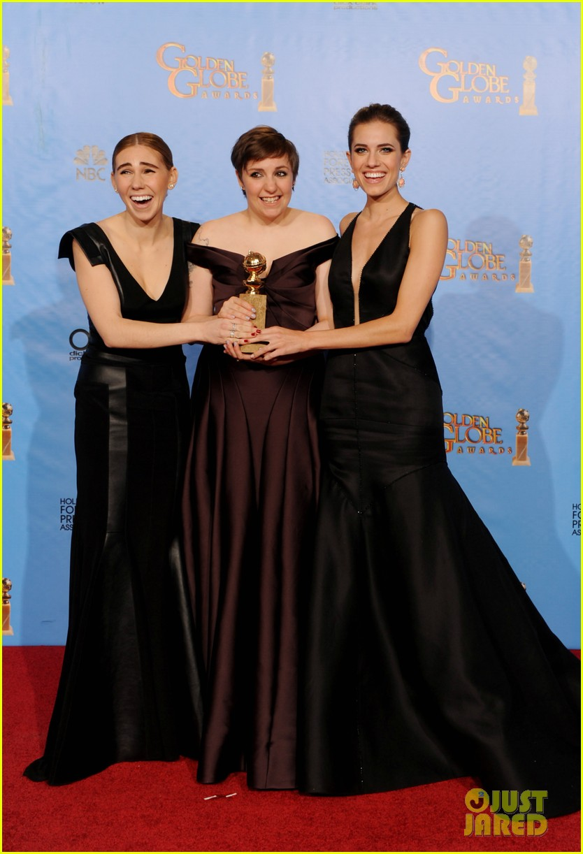 lena dunham girls wins best comedy series at golden globes 2013 03