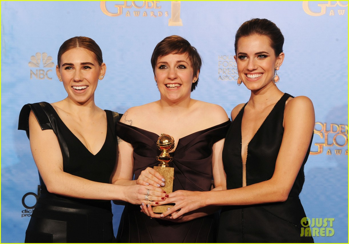 lena dunham girls wins best comedy series at golden globes 2013 162791355