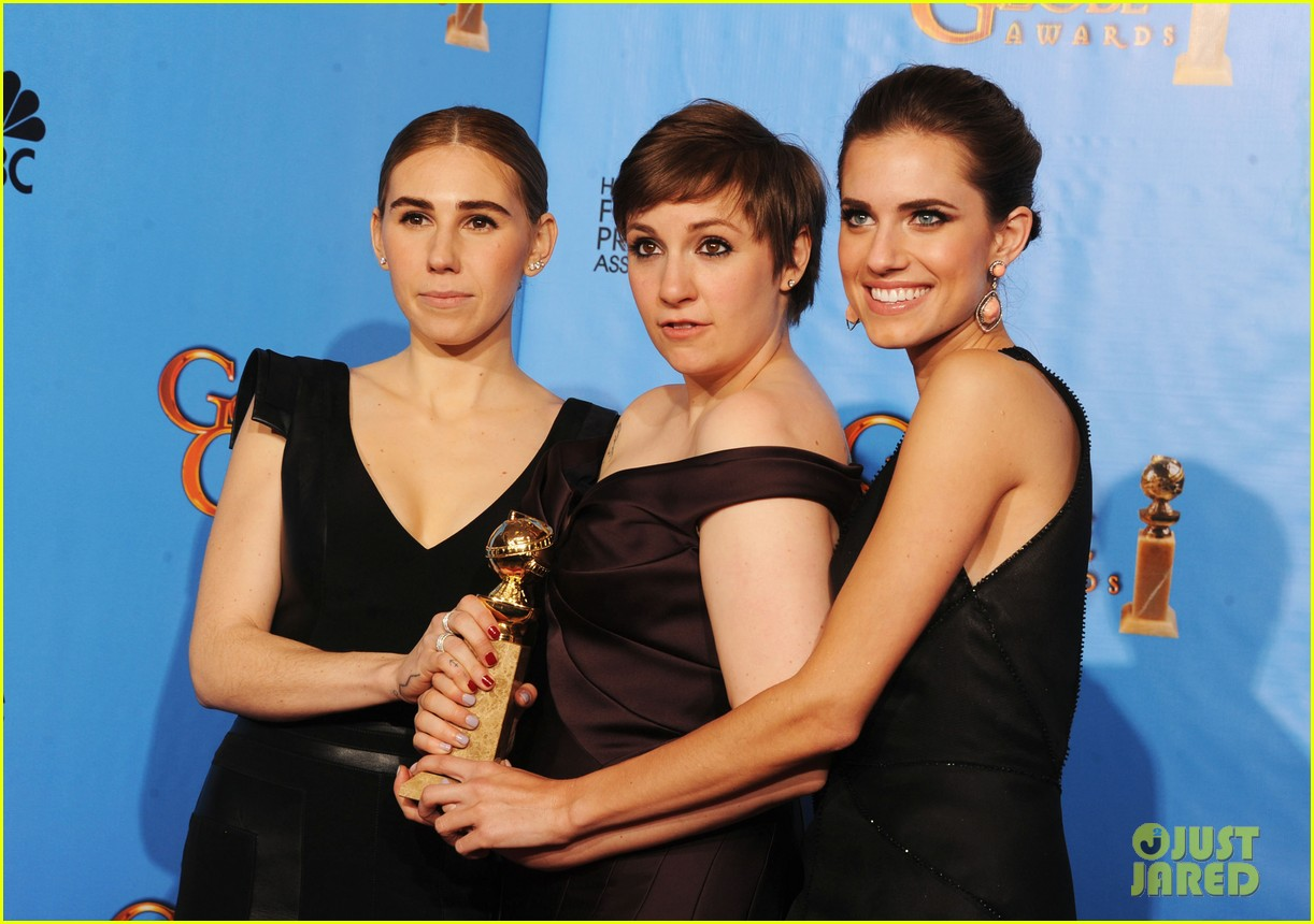 lena dunham girls wins best comedy series at golden globes 2013 172791356