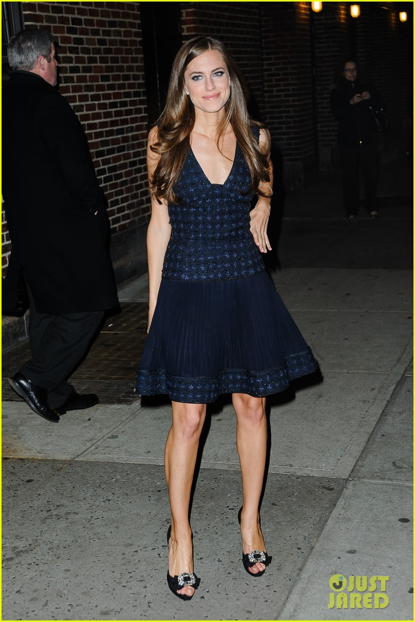 lena dunham allison williams letterman ladies 182788981
