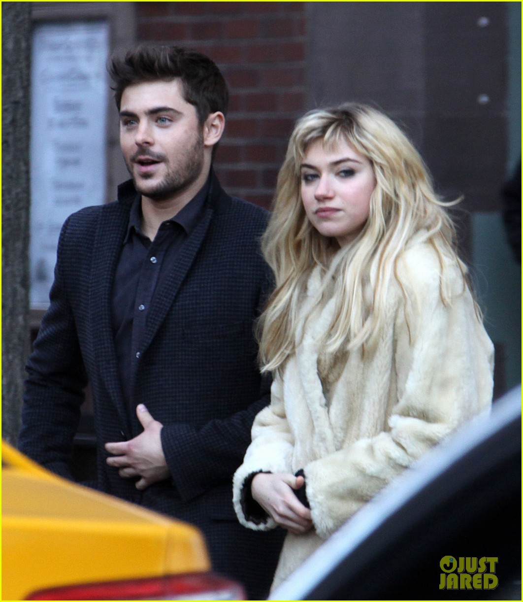 zac efron imogen poots kiss kiss for dating 022786722