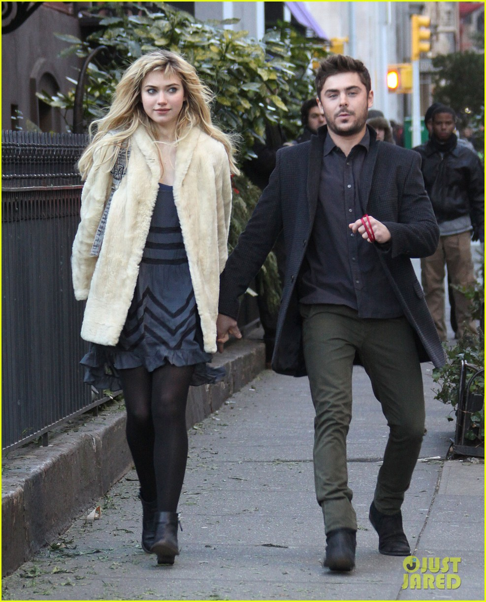 zac efron imogen poots kiss kiss for dating 26