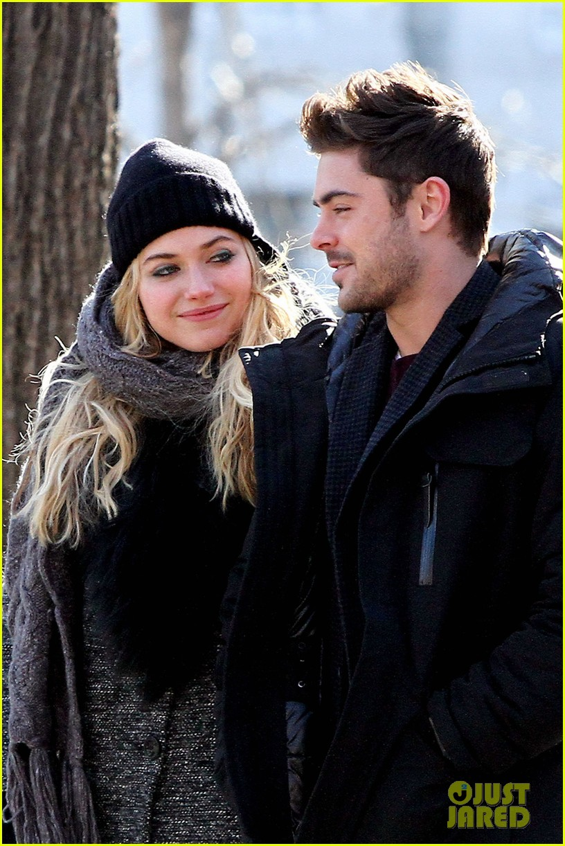 zac efron imogen poots park stroll for dating 042794329