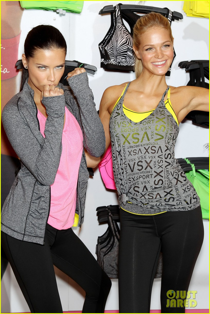erin heatherton adriana lima victorias secret sport healthy year launch 022792727