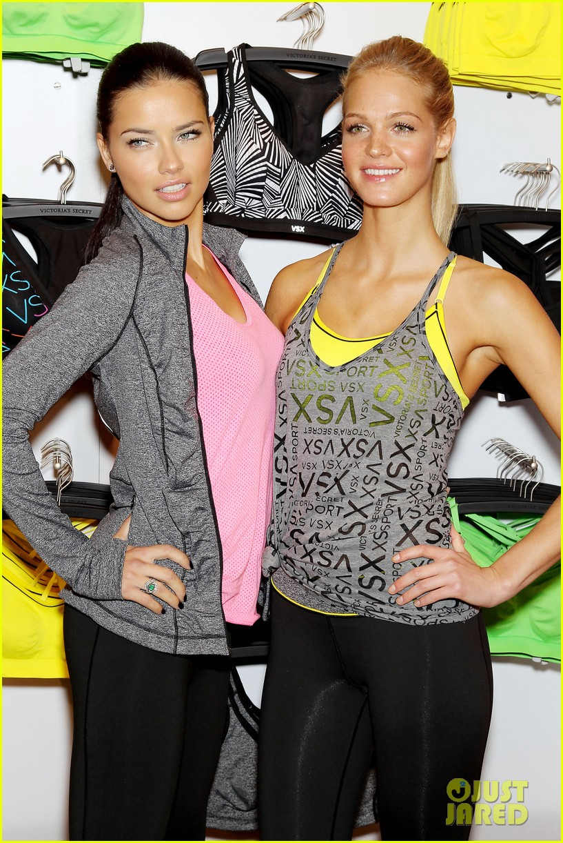 erin heatherton adriana lima victorias secret sport healthy year launch 072792732