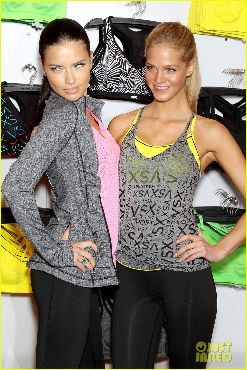 erin heatherton adriana lima victorias secret sport healthy year launch 092792734