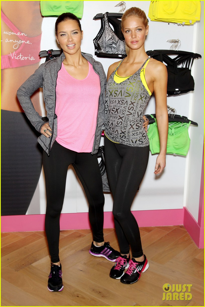 erin heatherton adriana lima victorias secret sport healthy year launch 132792738