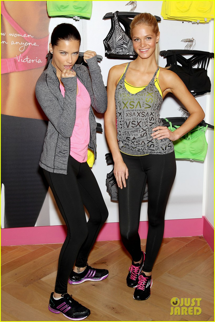 erin heatherton adriana lima victorias secret sport healthy year launch 172792742