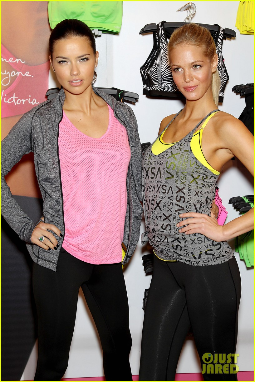 erin heatherton adriana lima victorias secret sport healthy year launch 212792746